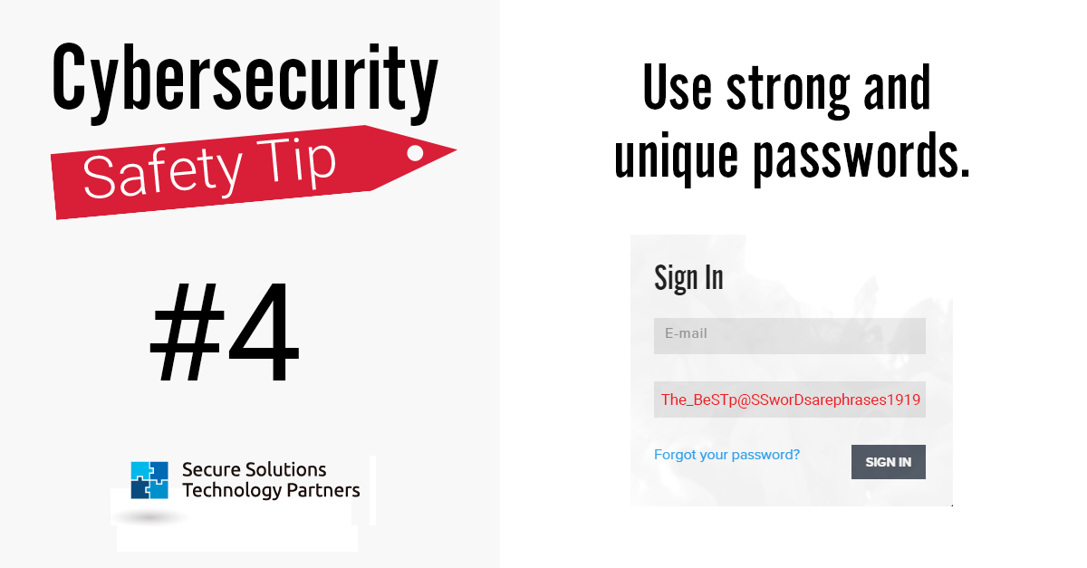 Cyber Monday Graphic 4Number 0 - Two-Factor Authentication (2FA) Can Help (part 2 of a 3-part series)