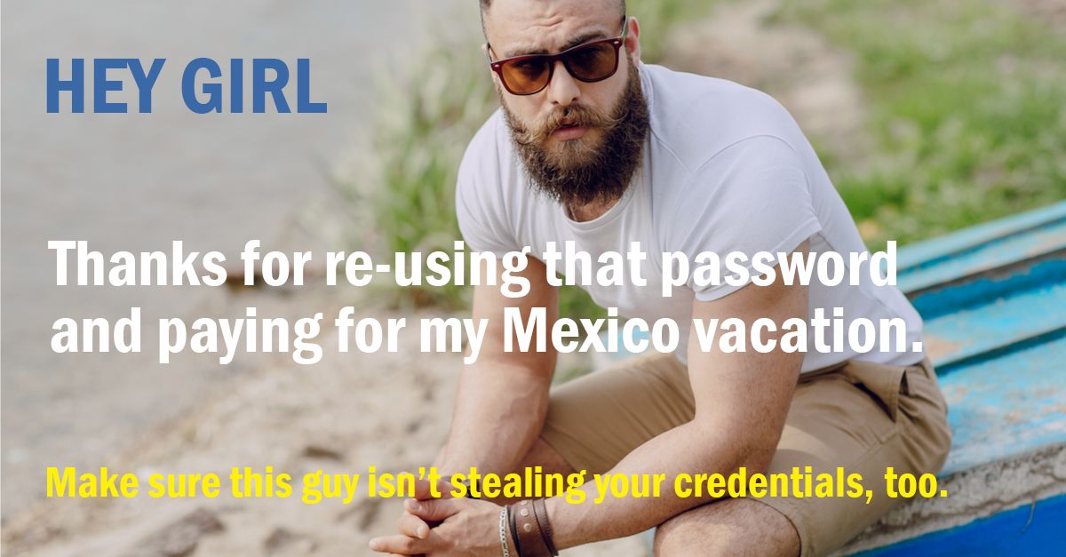Beach guy - Why aren't passwords good enough? (part 1 of a 3-part series)